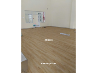 Thi công sàn nhựa giả gỗ cho Trường Tiểu học Điện Biên - Quận 10