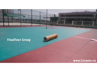 Công trình sàn thể thao ngoài trời cho nhà máy nhiệt điện Vĩnh Tân, Tuy Phong, Bình Thuận