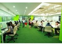 Sử dụng thảm trải sàn cho nơi làm việc thêm sang trọng
