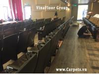 Công trình thi công sàn nhựa cho hội trường trường ĐH TÔN ĐỨC THẮNG