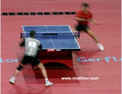 Table Tennis Gerflor PVC Flooring