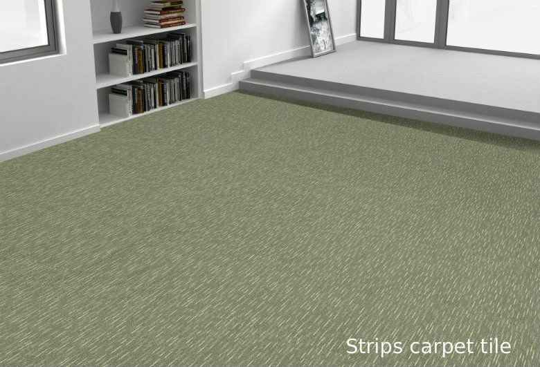 strips là dòng thảm trải sàn giá rẻ
