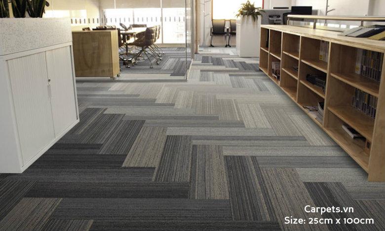 thảm dài 25cm x 100cm