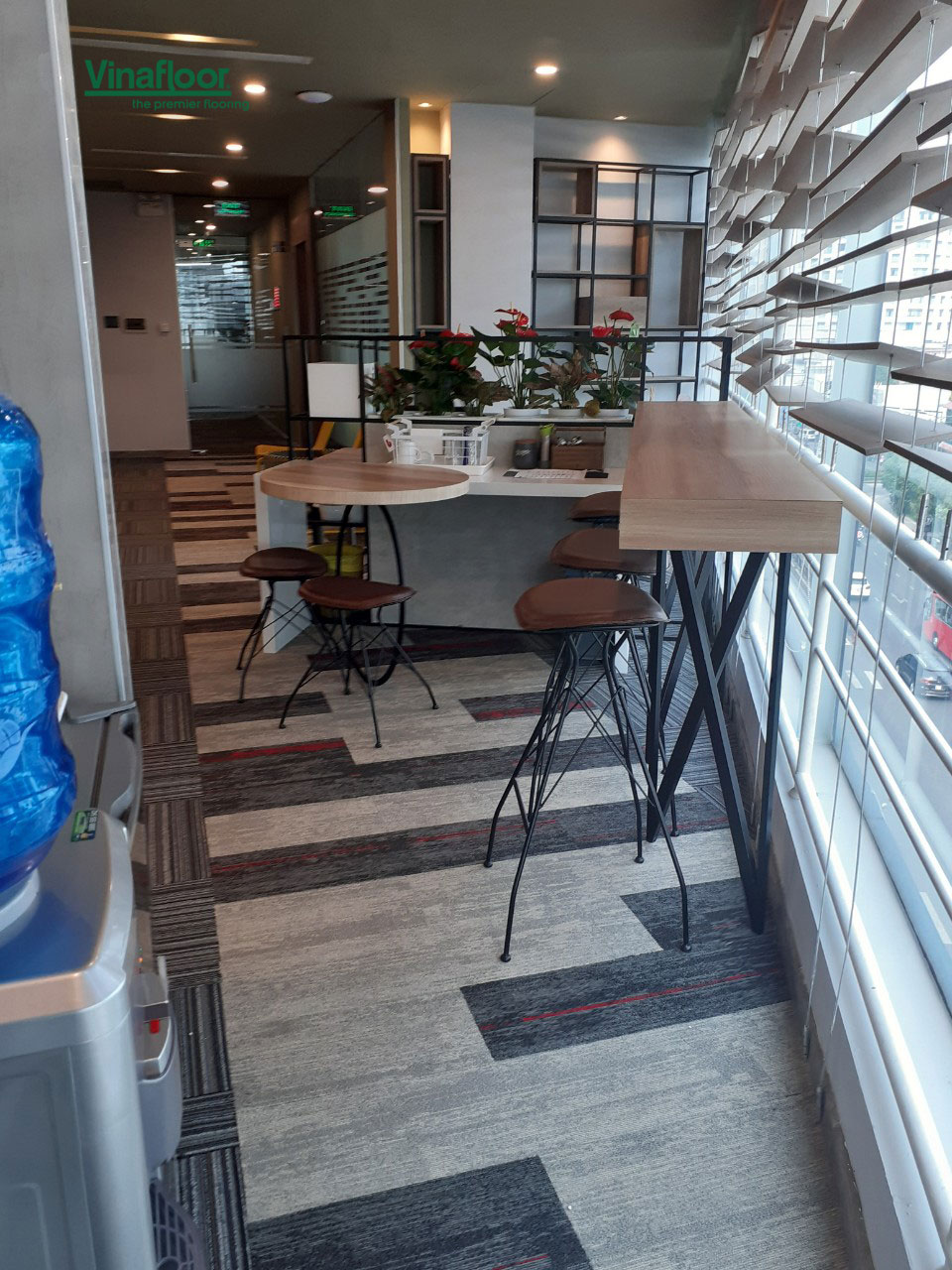 Thảm trải sàn Skywalk kết hợp thảm Melow cho văn phòng làm việc Nguyễn Văn Trỗi - Phú Nhuận