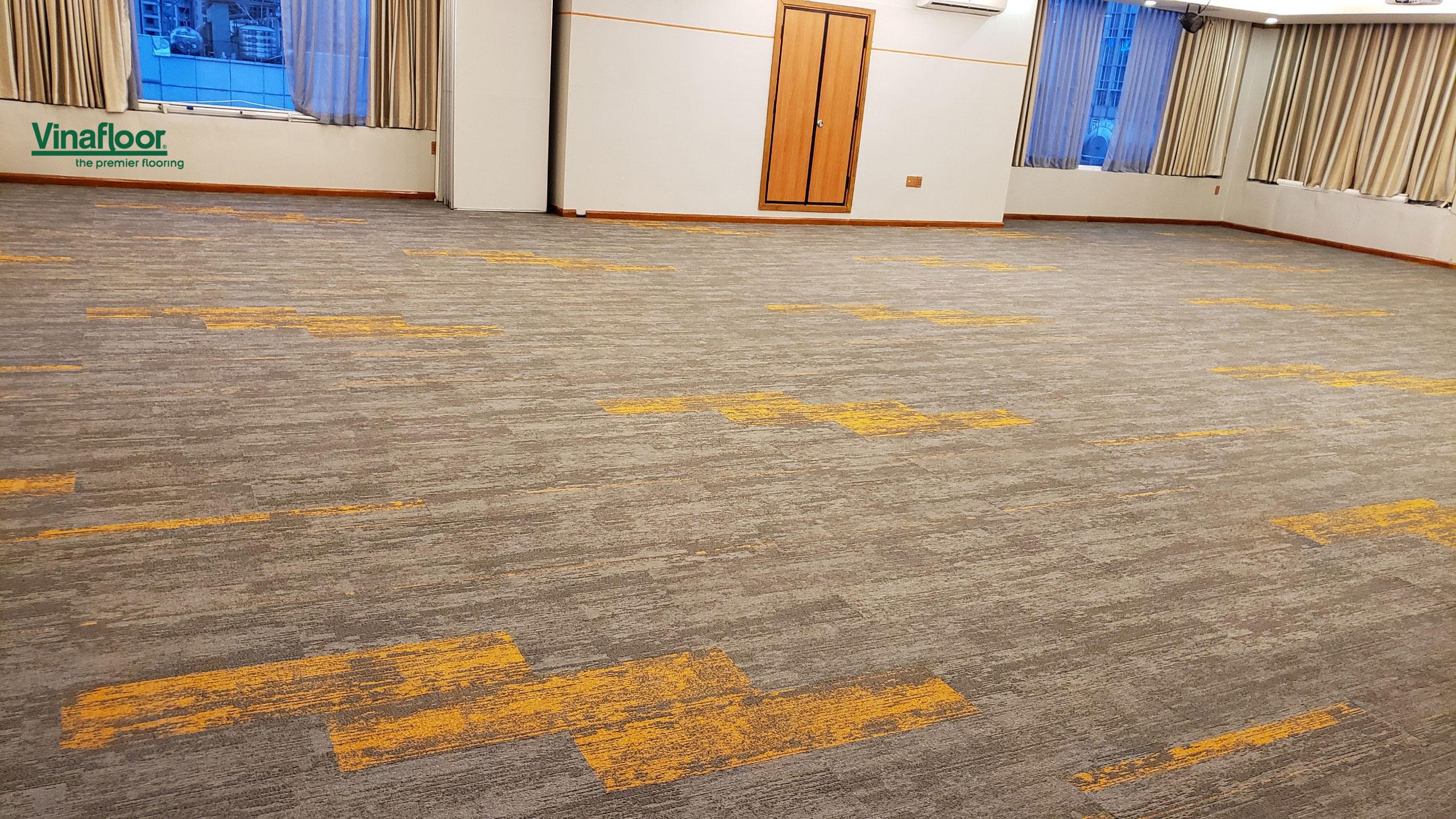 Công trình kết hợp thảm trải sàn skywalk Sài Gòn Hotel - Đông Du Quận 1