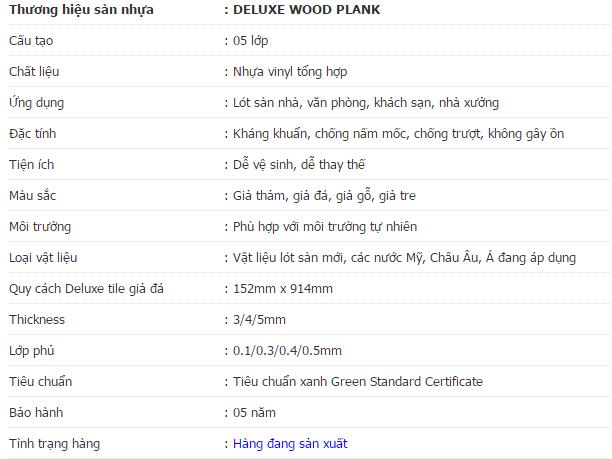 gạch giả gỗ Deluxe 53