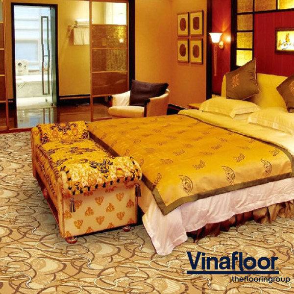 Những lưu ý khi lựa chọn thảm trải khách sạn