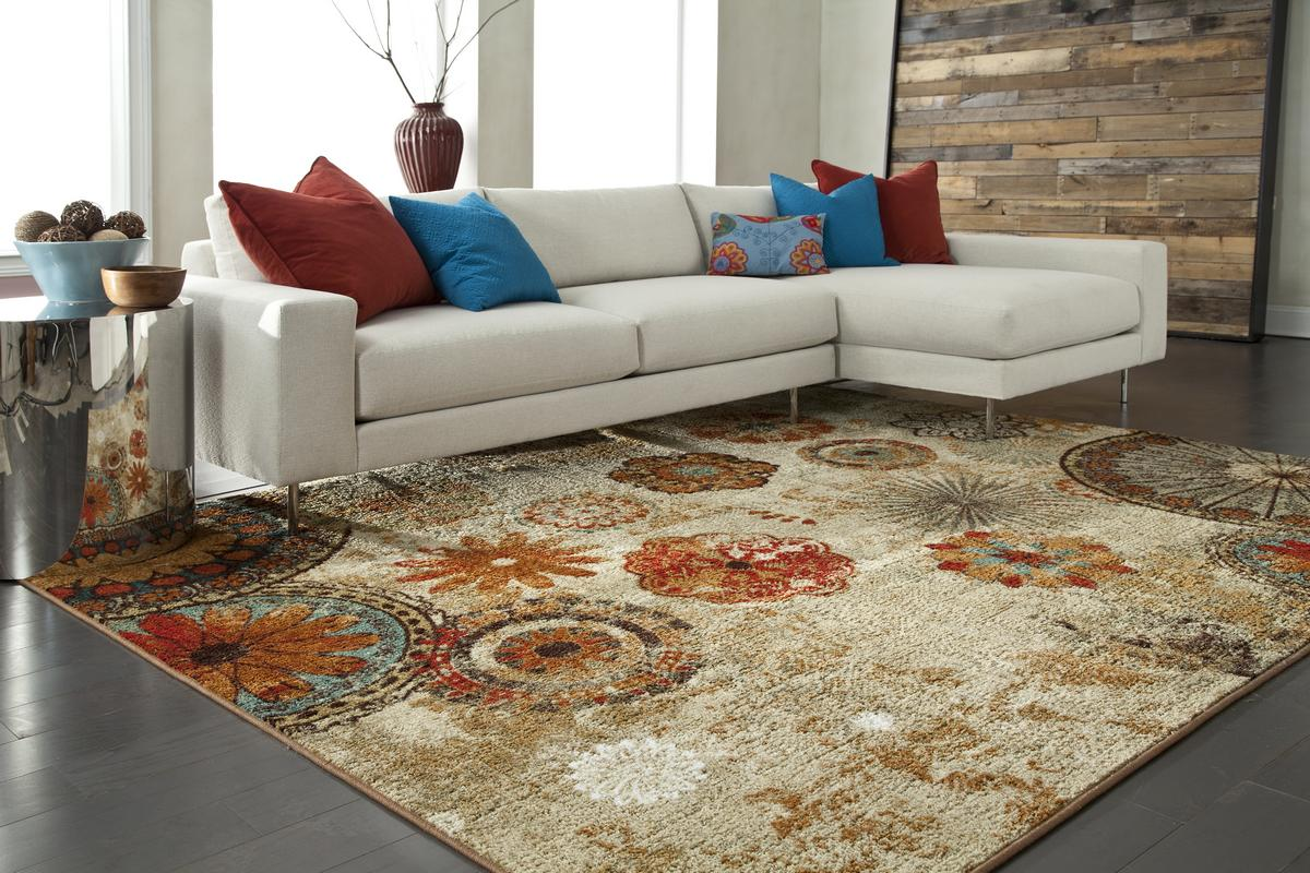 thảm trải sàn nhiều màu sắc
