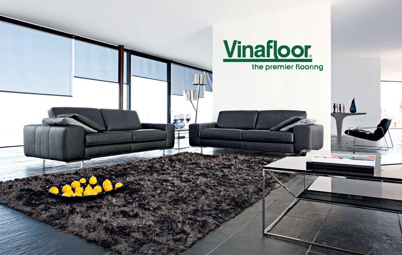 Thảm trải sàn mang đến vẻ đẹp sang trọng cho phòng khách