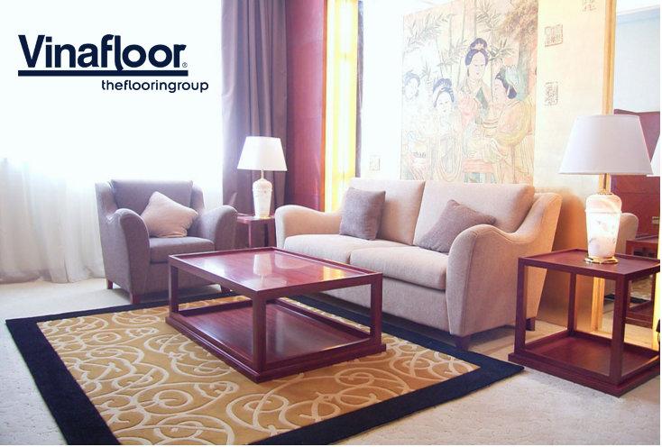 Thảm trải sàn phù hợp cho phòng khách