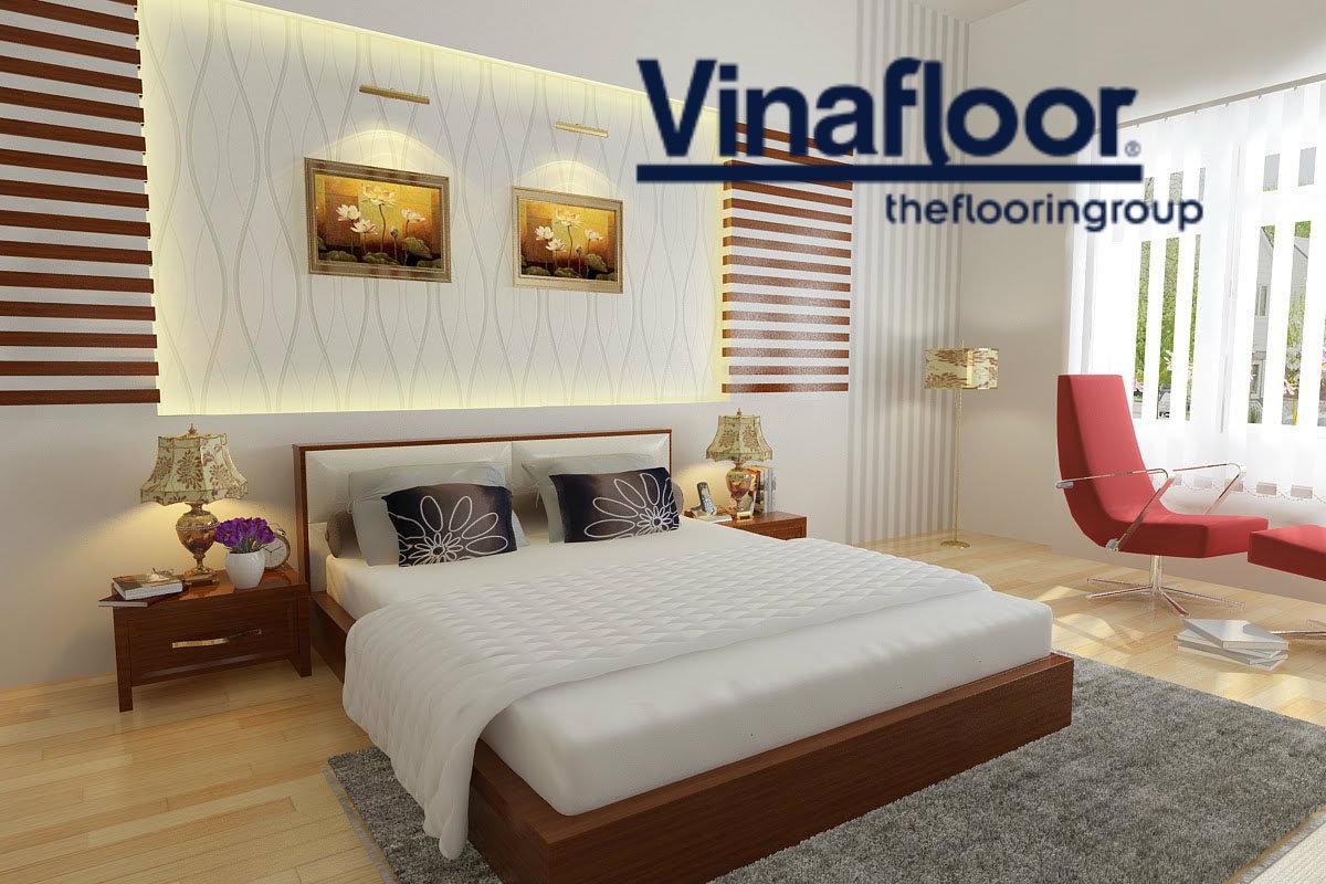 Sử dụng thảm trải sàn cho phòng ngủ trong màu hè