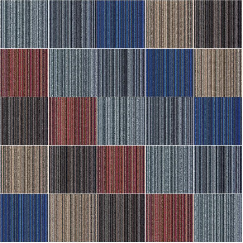 bảng màu thảm trải sàn melow