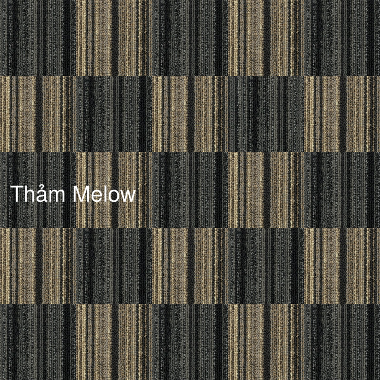 thảm lót sàn melow phối 2 màu