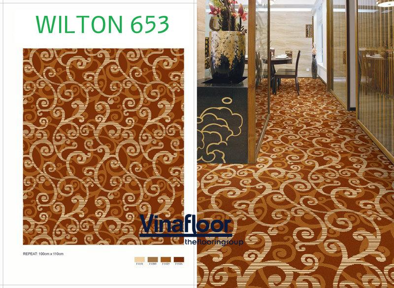 Thảm trải sàn Wilton 653