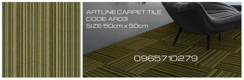 Thảm trải sàn Arltine AR03