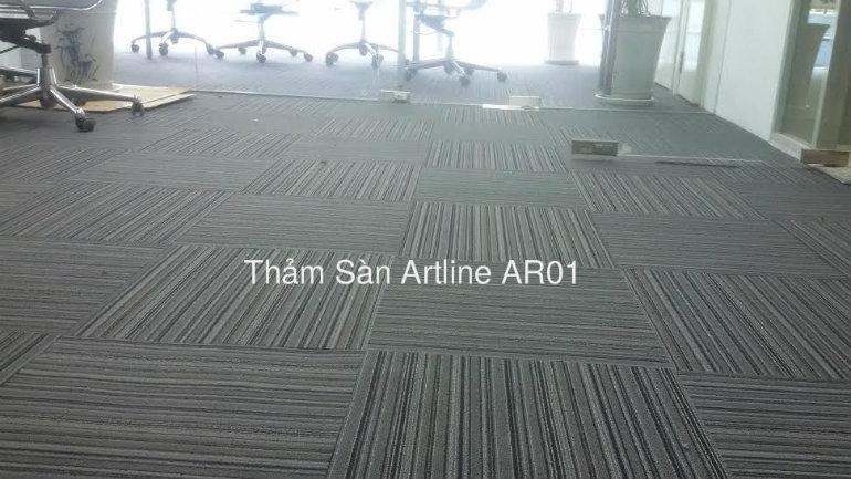 công trình thảm trải sàn artline ar01