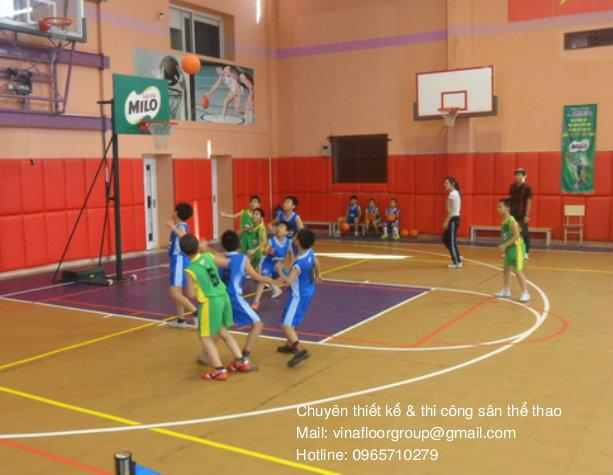 Thảm trải sân bóng rổ