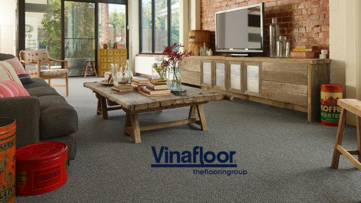 Biến đổi không gian phòng khách trở nên khác biệt với thảm trải sàn