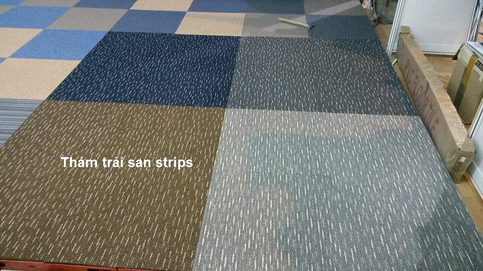 thảm trải Strips