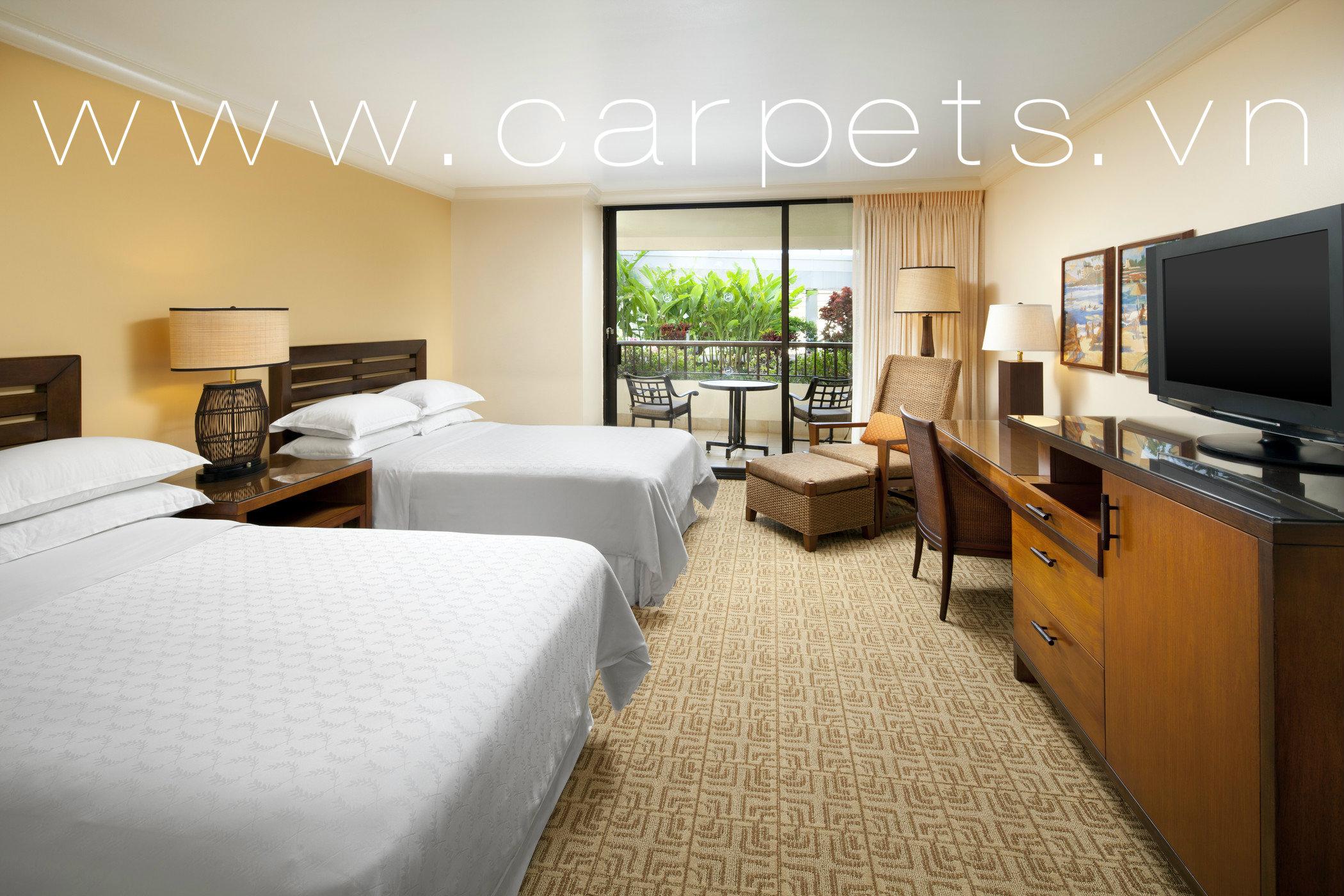 thảm trải sàn dành cho khách sạn