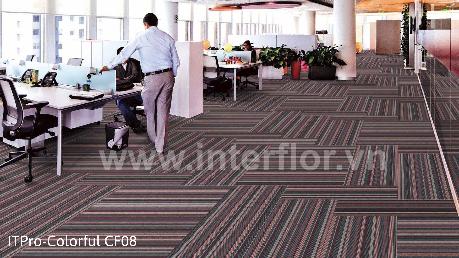 Thảm trải sàn Colorful