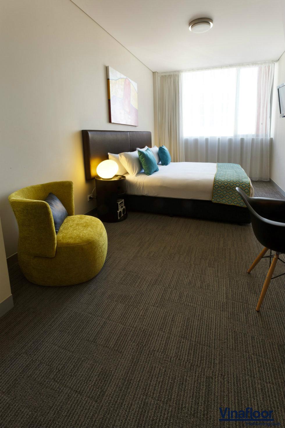 thảm trải sàn khách sạn dạng tấm